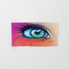 Kaleidoscopic Vision Hand & Bath Towel