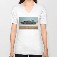 tame impala V-neck T-shirts featuring Impala 65 by Marko Köppe