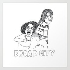 Broad City Art Print