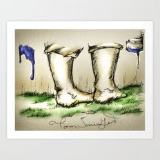 Tom Sawyer Art Print