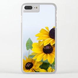 Little Sunflowers #1 #decor #art #society6 Clear iPhone Case