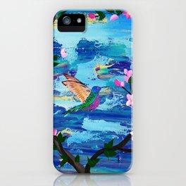 Hummingbird Spirit iPhone Case