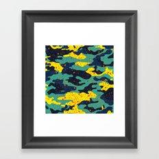 CAMOUFLAGE II Framed Art Print
