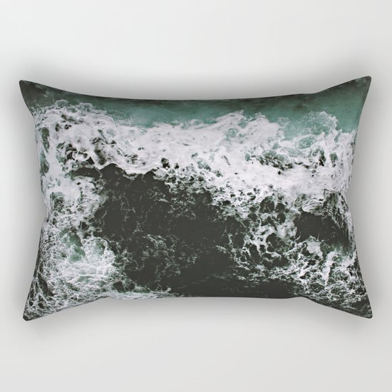 Waves #ocean Rectangular Pillow
