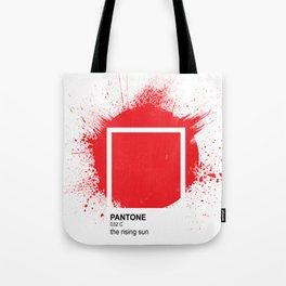 Pantone - Rising Sun Tote Bag