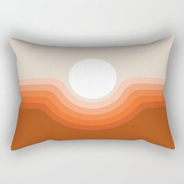 Red Rock Canyon Rectangular Pillow