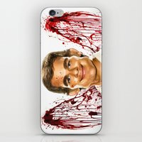 dexter iPhone & iPod Skins featuring Dexter by Giampaolo Casarini