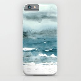 dissolving blues iPhone Case