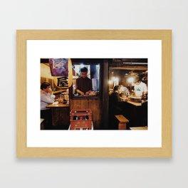 Memory Lane 2 Framed Art Print