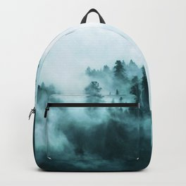 Clear away the fog to see the light. Turquoise Backpack