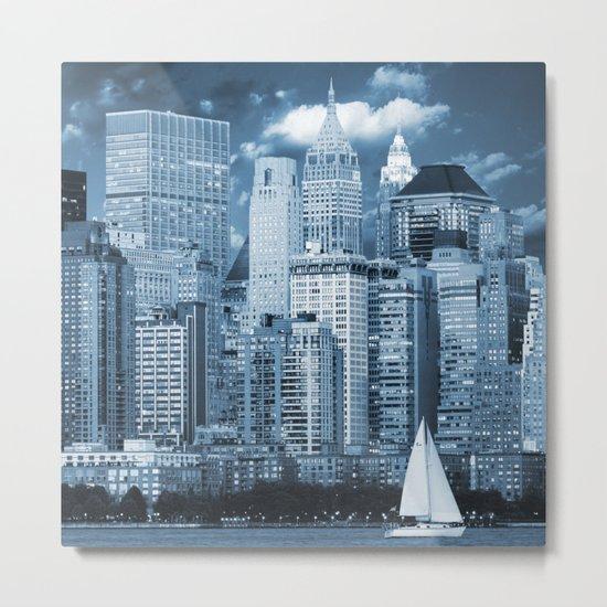 Manhattan (New York, NY, USA) Metal Print