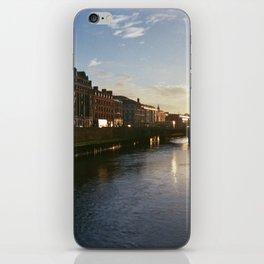 Sunset in Dublin iPhone Skin