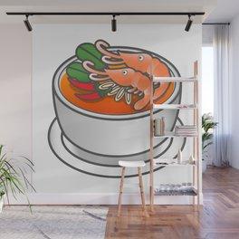 Tom Yam Koong Wall Mural