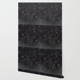 Gray Black Marble #1 #decor #art #society6 Wallpaper