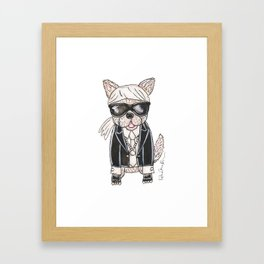 Karl Lagerwoof Framed Art Print