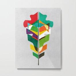 Before the last leaf falls Metal Print