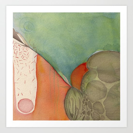 Descend Art Print