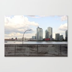 New York/Pepsi/River/Driving Canvas Print