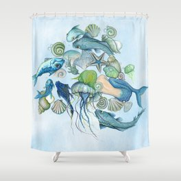 Atlantis Underwater World Shower Curtain