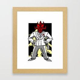 365 Space Wrestlers: Don Satan Framed Art Print