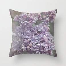 Your world for a moment... Throw Pillow
