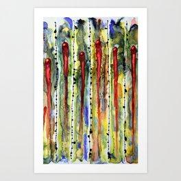 Race the Ovum Art Print