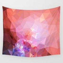 Geometric galaxy low poly 2 Wall Tapestry