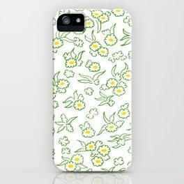 Blumenwiese iPhone Case