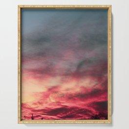 Easton Sunset Serving Tray