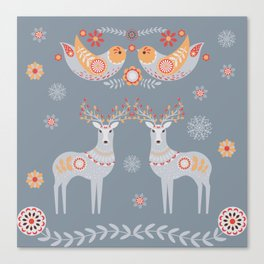Nordic Winter Canvas Print