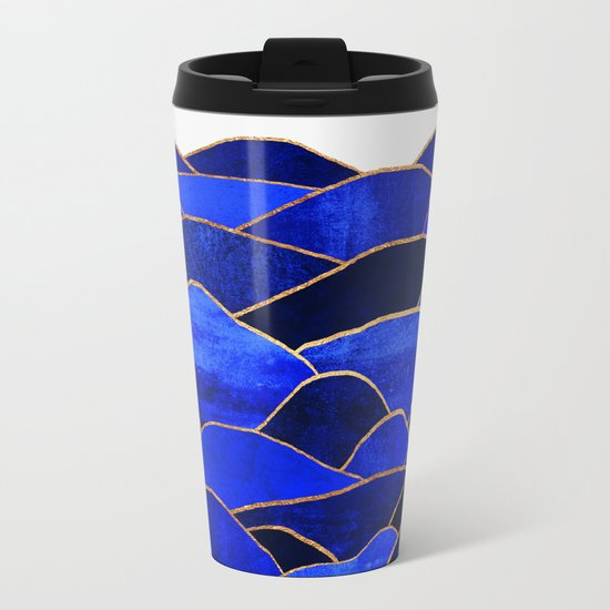 Blue Hills Metal Travel Mug