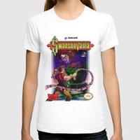 castlevania T-shirts featuring SwansonVania by Andrew Leta
