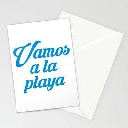 VAMOS A LA PLAYA Stationery Cards