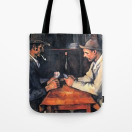 Paul Cézanne - The Card Players Tote Bag