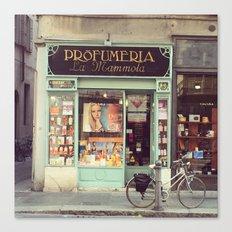 Profumeria Parma Canvas Print