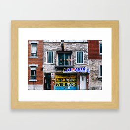 Le Plateau Mont Royal - Montreal, Canada - #10 Framed Art Print