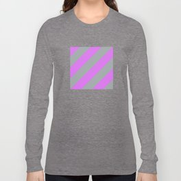 Fluorescent Semaphore Graphic Series Long Sleeve T-shirt