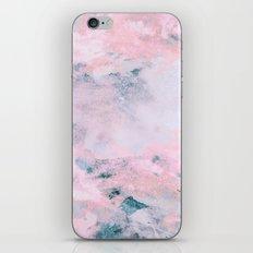 Navy Pink Watercolor iPhone & iPod Skin