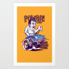 Jezza Art Print