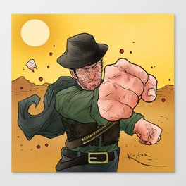 Fistful Part One Canvas Print