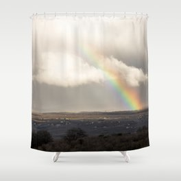 It's a rainy day Shower Curtain
