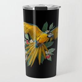Tropical Macaw Travel Mug