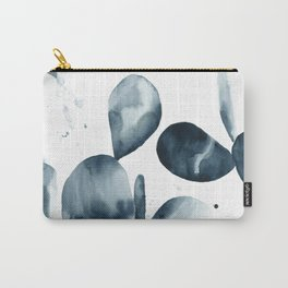 Indigo Paddle Cactus Carry-All Pouch