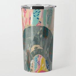 chaos rainbow by Ashley Reynolds Travel Mug