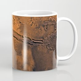 Valles Marineris, Mars Coffee Mug