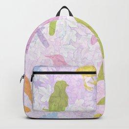 Pastel Birds Backpack