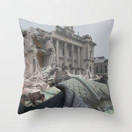 Earthquake Memorys  Throw Pillow
