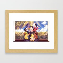 I WILL ALWAYS REMEMBER THIS - Markiplier + FNAF Framed Art Print