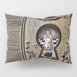 Through the keyhole  Pillow Sham