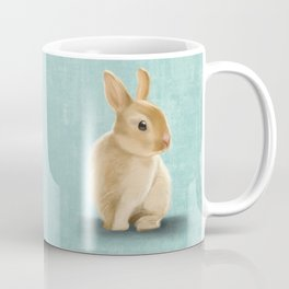 Portrait of a little bunny Coffee Mug
